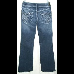 Peoples Liberation Jeans Rhinstone Star Pockets 6